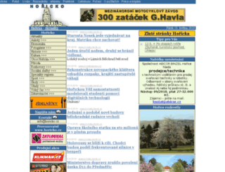 horicko.cz screenshot