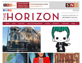 horizon.westmont.edu screenshot