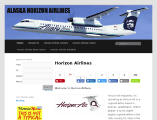 horizonairlines.info screenshot