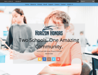 horizonclc.org screenshot