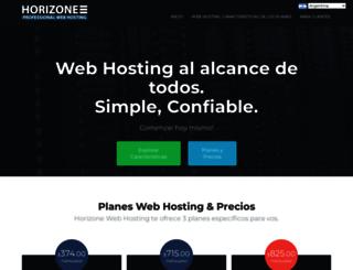 horizonewebhosting.com screenshot