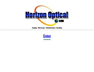 horizonoptical.com screenshot
