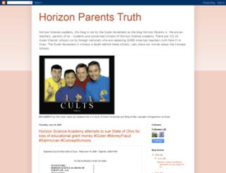 horizonparentstruth.blogspot.com screenshot