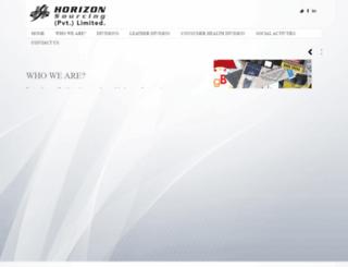 horizonsourcing.net.pk screenshot
