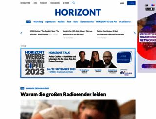 horizont.net screenshot