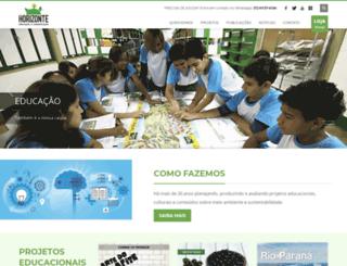 horizontegeografico.com.br screenshot