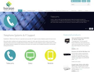 horizontelecom.net screenshot