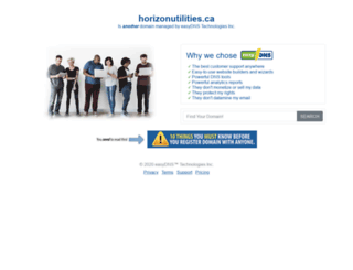 horizonutilities.ca screenshot