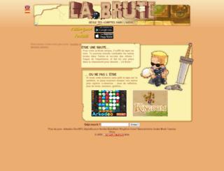 horlo.labrute.fr screenshot