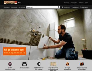 hornbach.nl screenshot