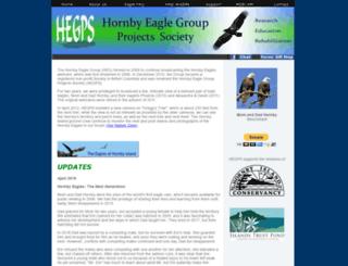 hornbyeagles.com screenshot