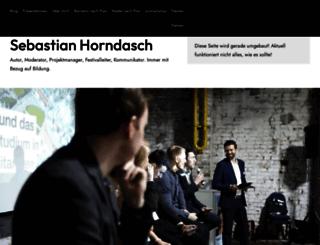 horndasch.net screenshot