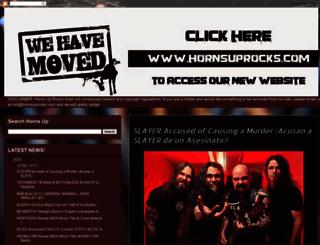 hornsuprocks.blogspot.com screenshot
