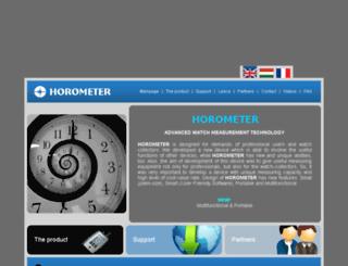 horometer.com screenshot