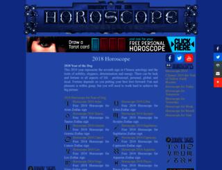 horoscope-for.com screenshot