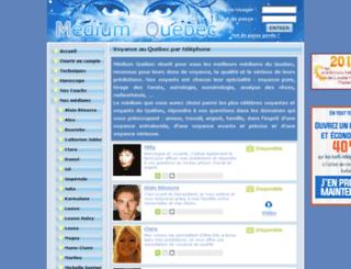 horoscope.mediumquebec.com screenshot