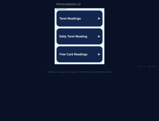 horoscopes4u.co screenshot