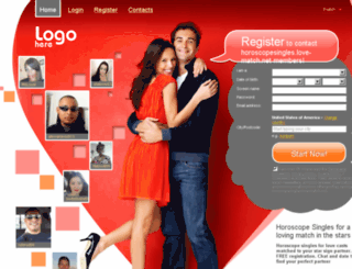 horoscopesingles.love-match.net screenshot