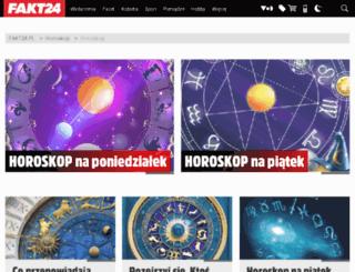 horoskop.fakt.pl screenshot