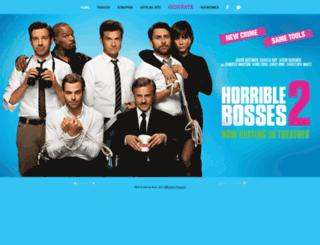 horriblebosses2.warnerbroscanada.com screenshot