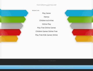 horridhenrygames.net screenshot