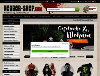 horror-shop.com screenshot