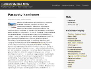 horrorstory.pl screenshot