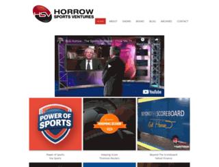 horrowsports.com screenshot