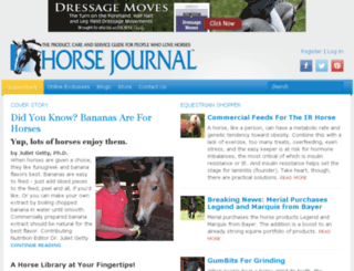horse-journal.com screenshot