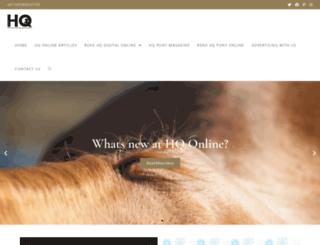 horse.co.za screenshot
