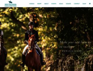 horseadoption.com screenshot