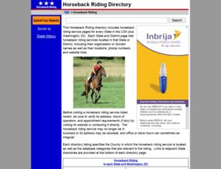 horseback-riding.regionaldirectory.us screenshot