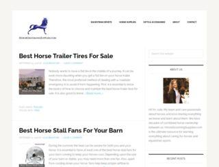 horsegroomingsupplies.com screenshot