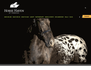 horsehaventn.org screenshot