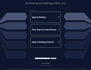 horseracing-and-bettingsystems.com screenshot