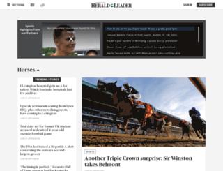 horseracing.bloginky.com screenshot