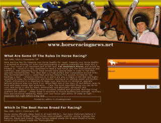 horseracingnews.net screenshot