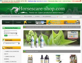 horsescare-shop.com screenshot