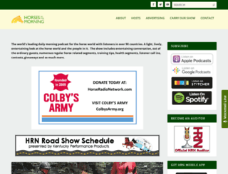 horsesinthemorning.com screenshot