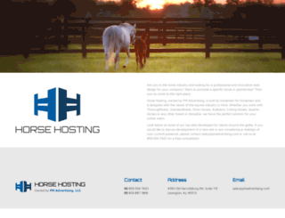 horsesites.com screenshot