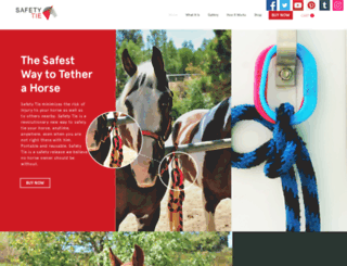 horsetieups.com screenshot