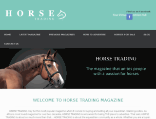 horsetrading.co.za screenshot