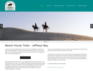 horsetrails.co.za screenshot