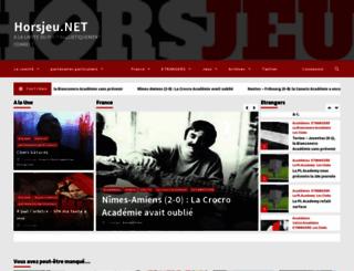 horsjeu.net screenshot