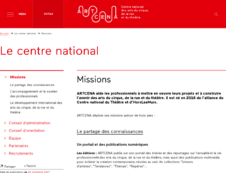 horslesmurs.fr screenshot