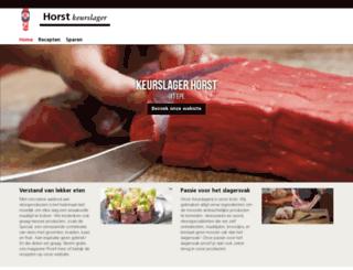 horst.keurslager.nl screenshot