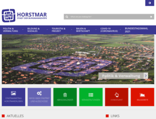 horstmar.de screenshot