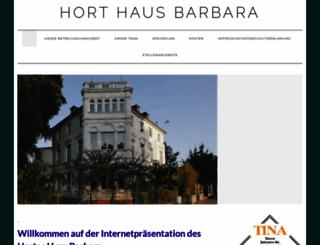 hort-barbara.de screenshot