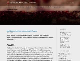 horticulture.wisc.edu screenshot