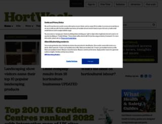horticultureweek.co.uk screenshot